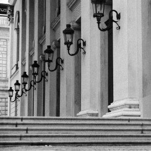 Opera house facade, Munich
