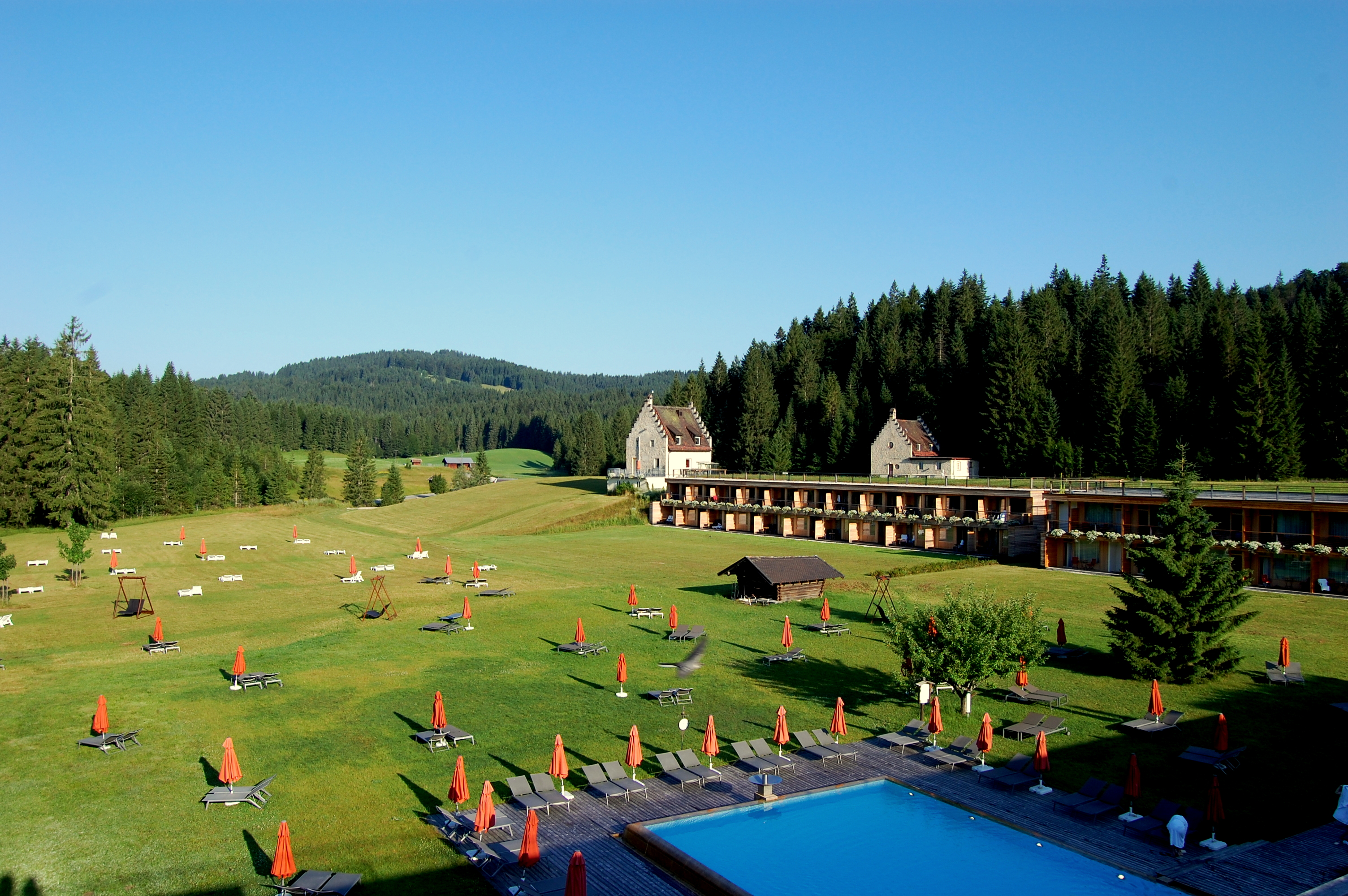 Wellness area - Das Kranzbach