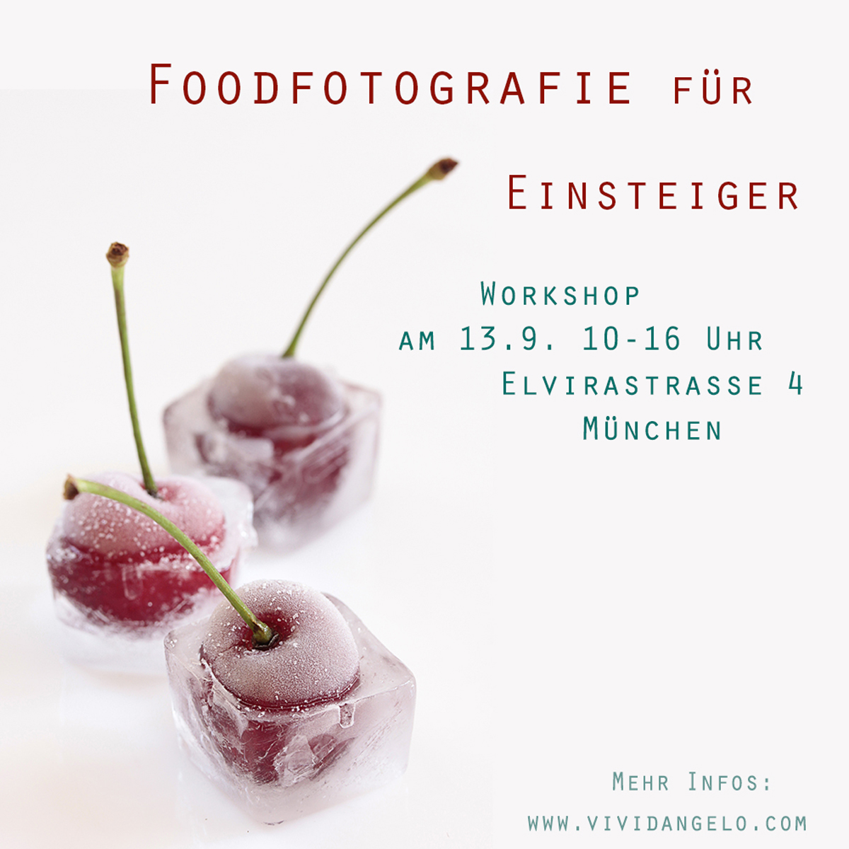 Food photography course: Munich