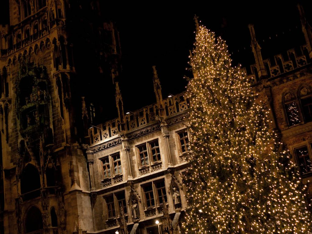 Christmas shopping: Munich