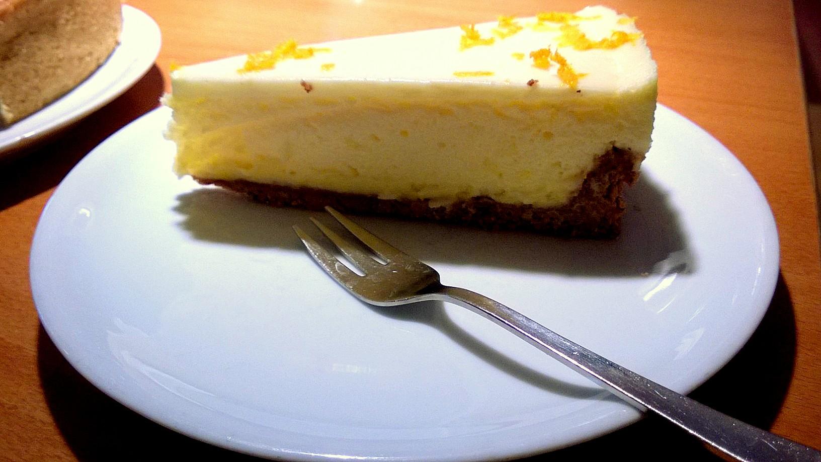 Kaffee Schneller: Lemon cheesecake